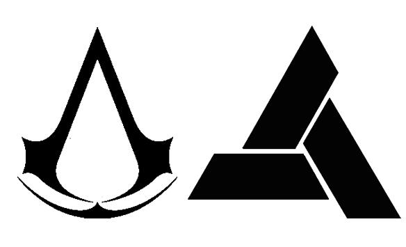 как нарисовать знак ассасина
