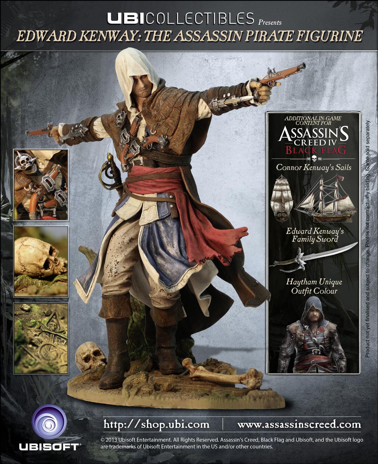 фигурки для корабля в assassins creed